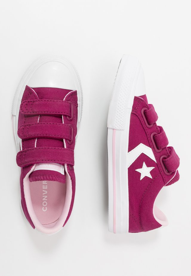 STAR PLAYER - Sneaker low - rose maroon/cherry blossom/white