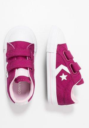 STAR PLAYER - Sneakersy niskie - rose maroon/cherry blossom/white