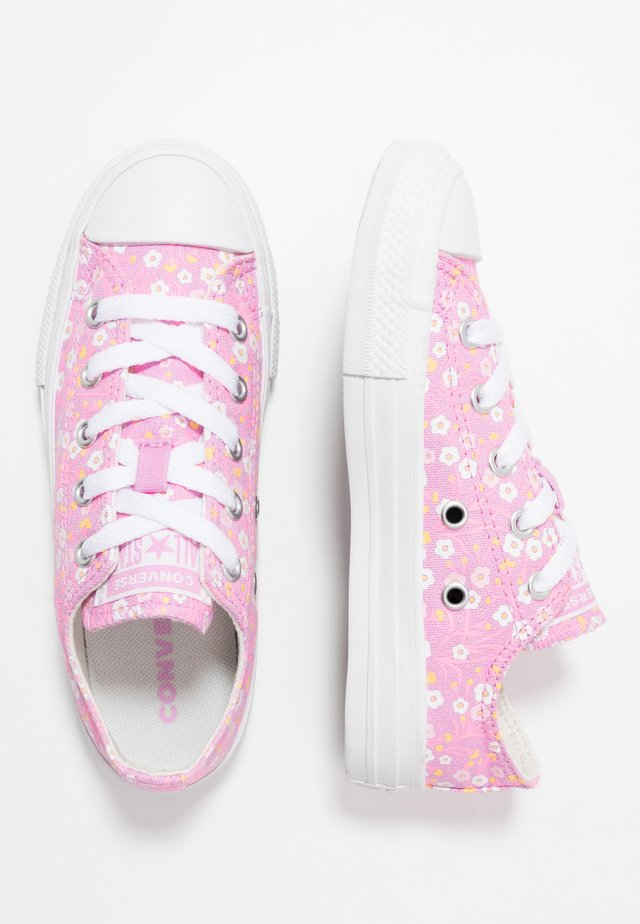 CHUCK TAYLOR ALL STAR FLORAL - Sneakers laag - peony pink/topaz gold/white