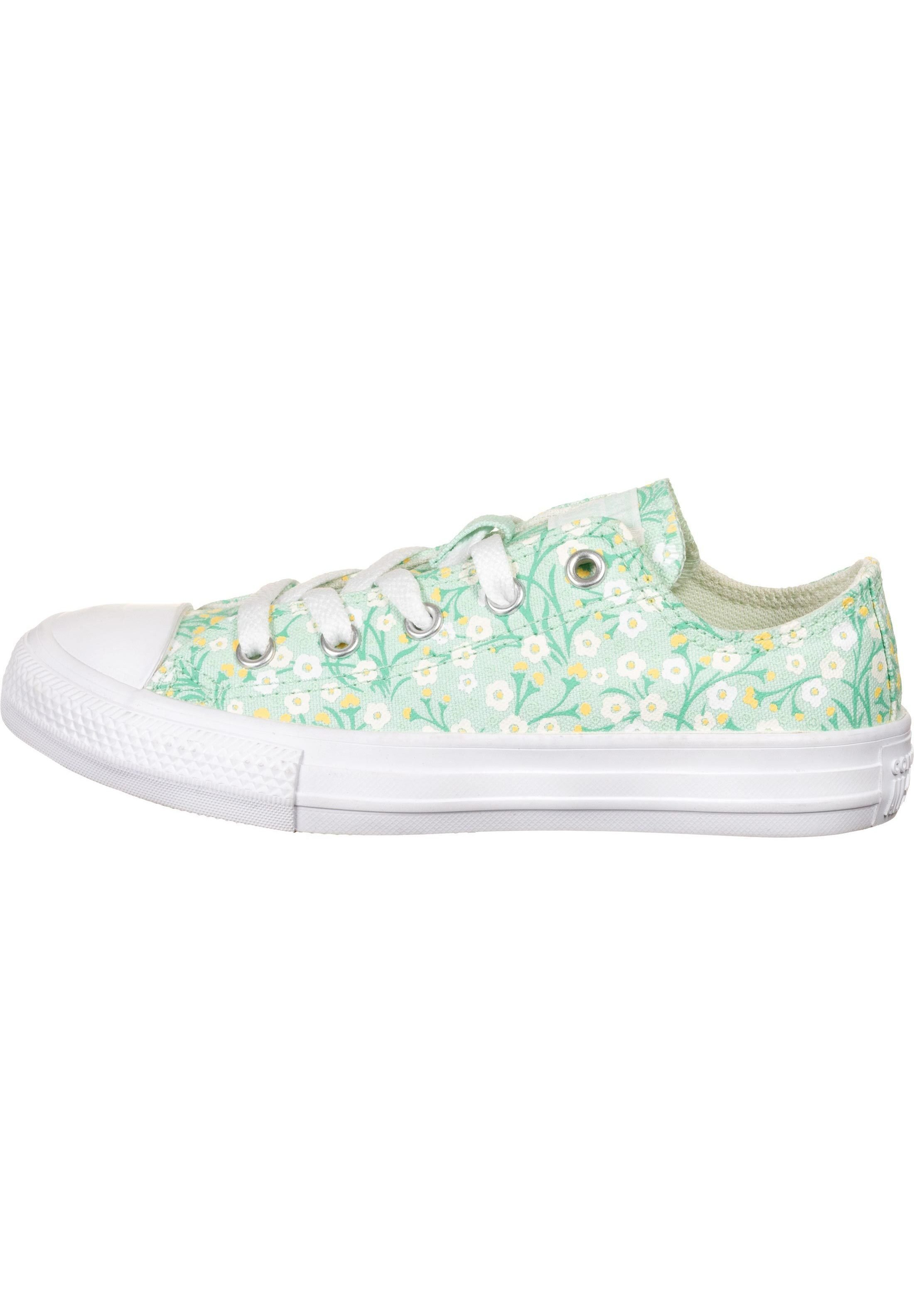 CHUCK TAYLOR ALL STAR Baskets basses ocean mint topaz gold white