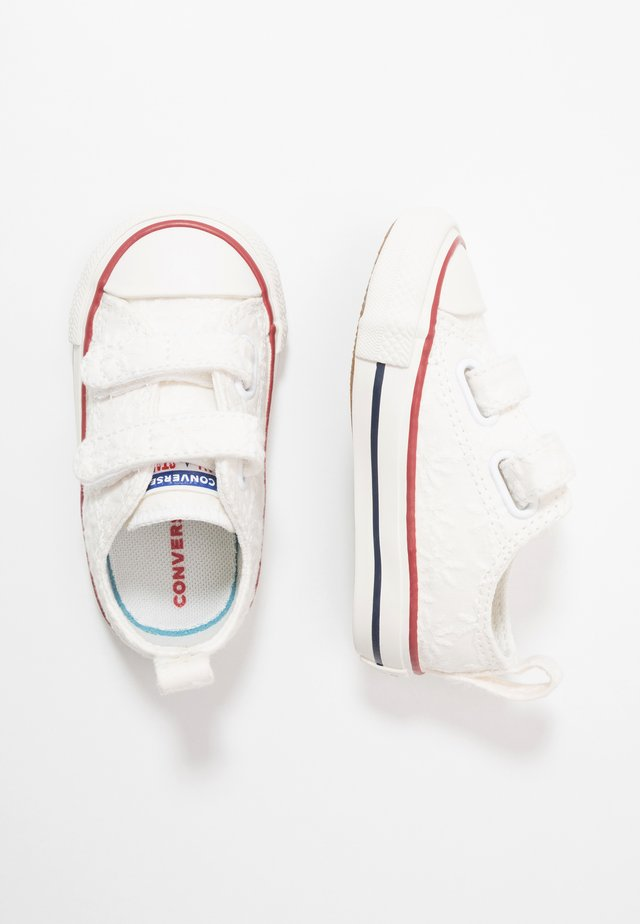 CHUCK TAYLOR ALL STAR LITTLE MISS CHUCK - Zapatillas - white/garnet/midnight navy