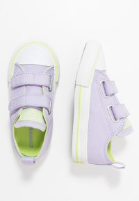 Converse - CHUCK TAYLOR ALL STAR 2V - Trainers - moonstone violet/lemongrass - 0