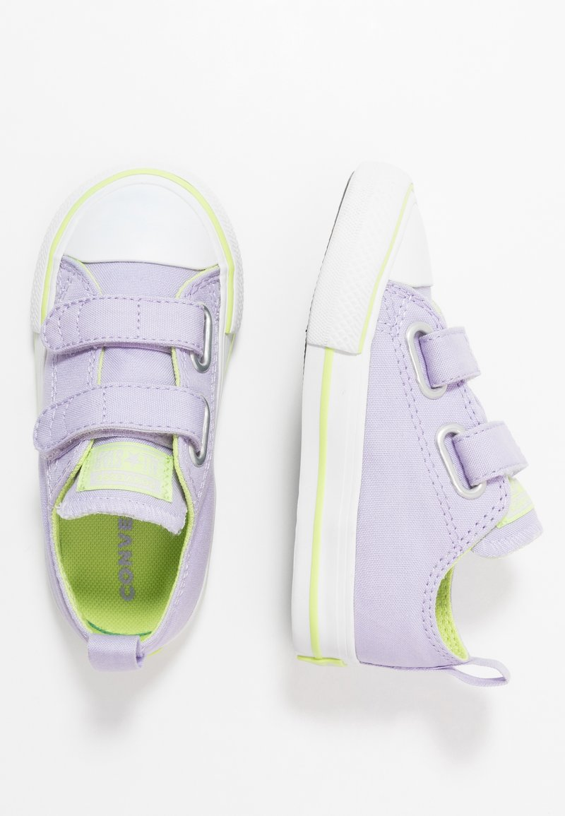 Converse - CHUCK TAYLOR ALL STAR 2V - Trainers - moonstone violet/lemongrass