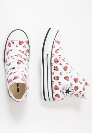 CHUCK TAYLOR ALL STAR PLATFORM EVA - Zapatillas altas - white/garnet