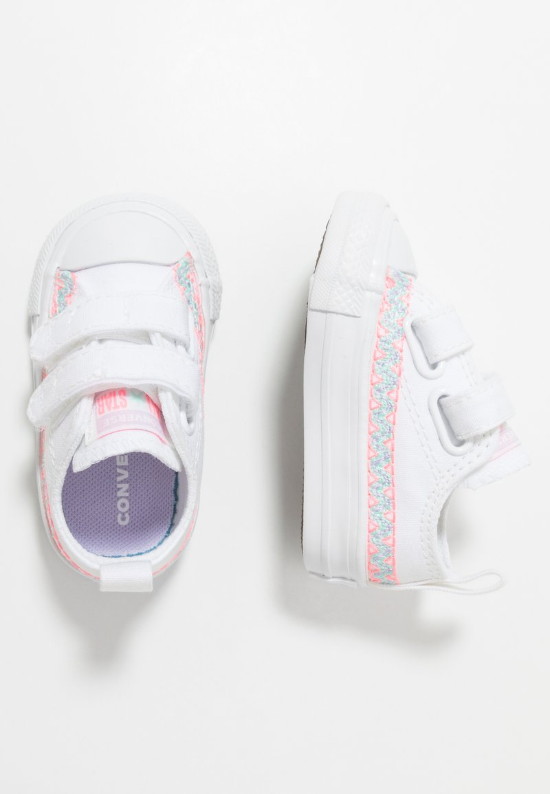 Converse - CHUCK TAYLOR ALL STAR - Sneakers laag - white/moonstone violet
