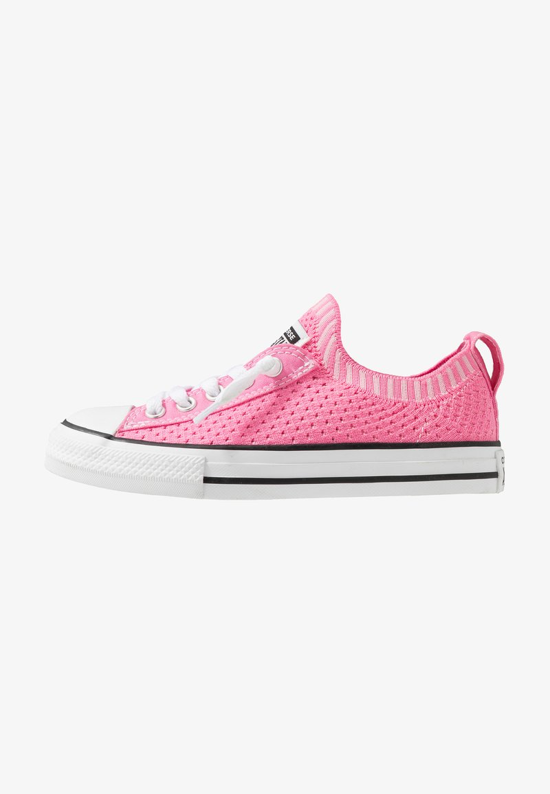 Converse - CHUCK TAYLOR ALL STAR KIDS - Trainers - pink/black/white