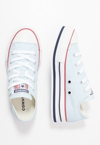 Converse - CHUCK TAYLOR ALL STAR PLATFORM EVA - Trainers - agate blue/white/midnight navy - 0