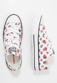 Converse - CHUCK TAYLOR ALL STAR - Sneakers basse - white/garnet - 0