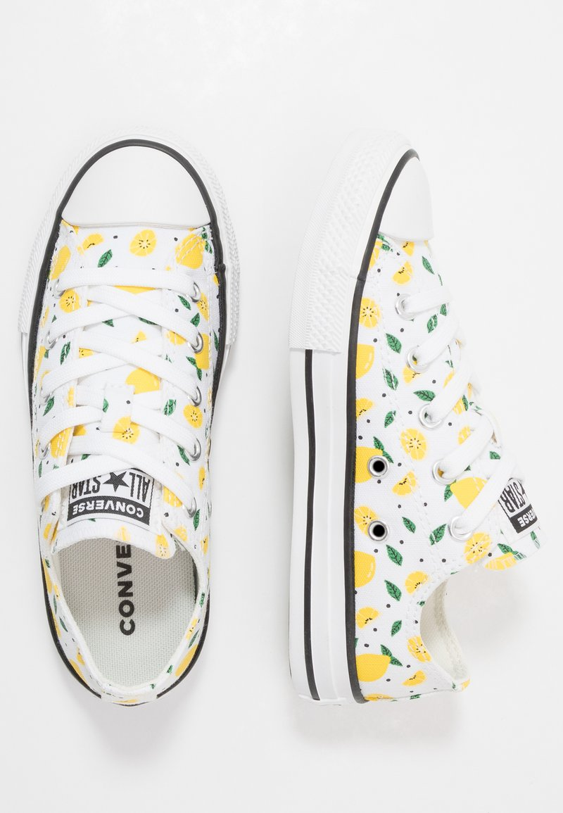 Converse - CHUCK TAYLOR ALL STAR - Tenisky - white/yellow/green