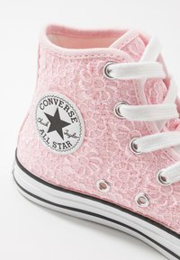 Converse - CHUCK TAYLOR ALL STAR - High-top trainers - arctic pink/white/black - 5