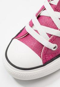 Converse - CHUCK TAYLOR ALL STAR - Vysoké tenisky - cerise pink/natural ivory - 2