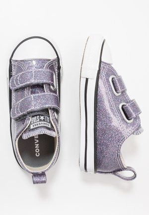 CHUCK TAYLOR ALL STAR GLITTER - Baskets basses - thunder/white/black