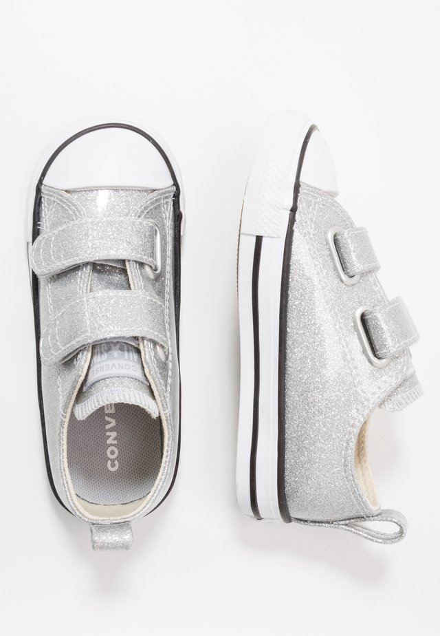 CHUCK TAYLOR ALL STAR GLITTER - Trainers - silver/white/black