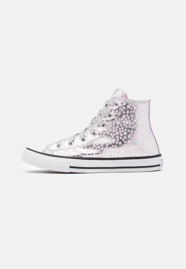 CHUCK TAYLOR ALL STAR - Zapatillas altas - silver/pink glaze/white