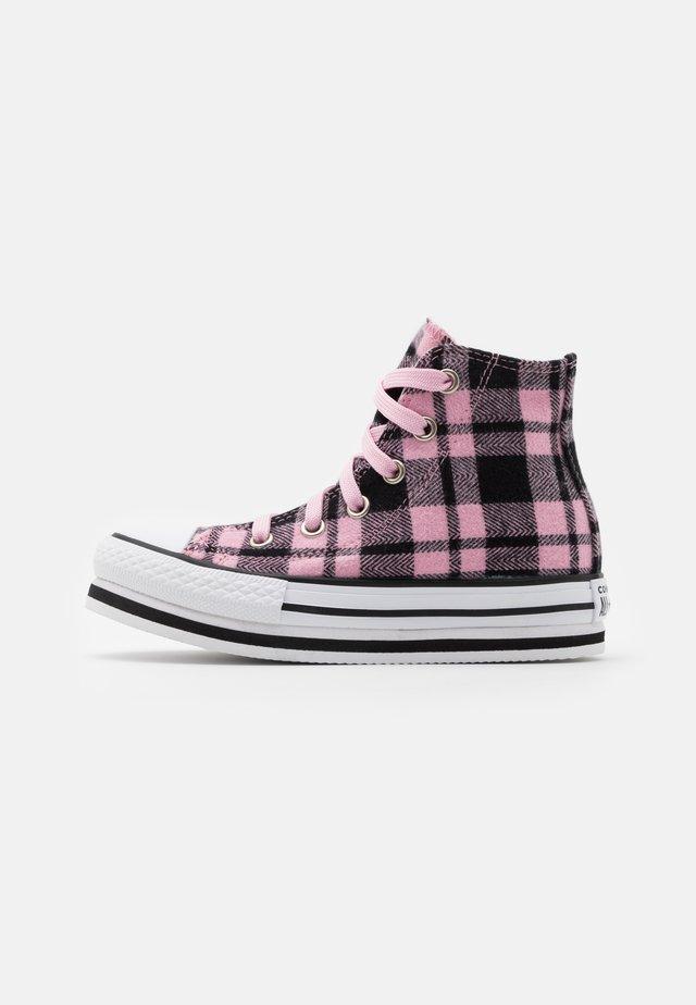 CHUCK TAYLOR ALL STAR PLATFORM - Zapatillas altas - black/pink