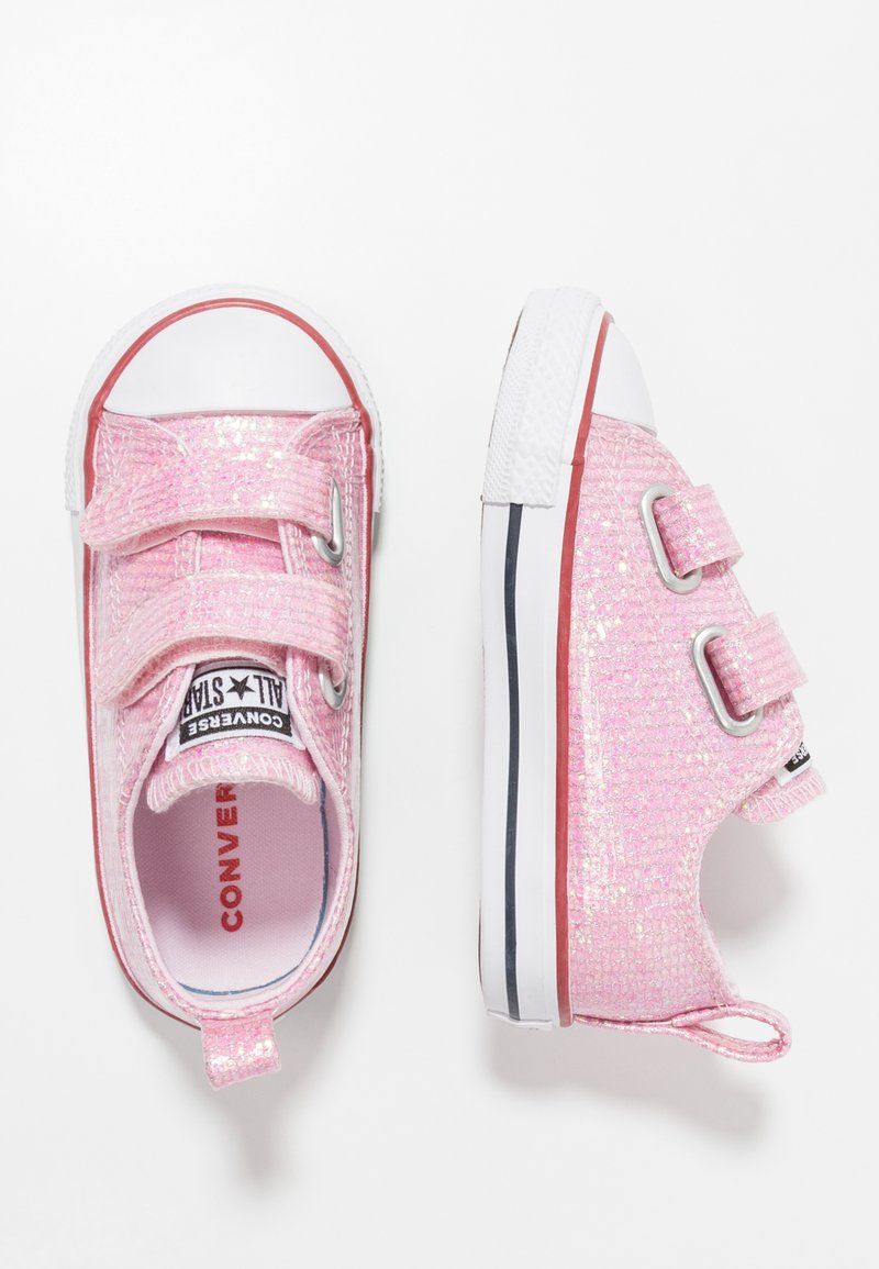 Converse - CHUCK TAYLOR ALL STAR - Lära-gå-skor - pink foam/enamel red/white