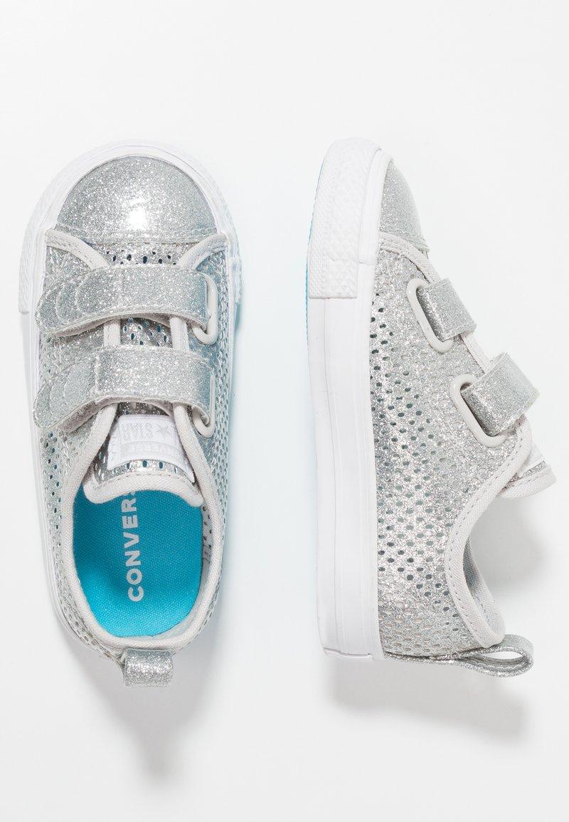 Converse - CHUCK TAYLOR ALL STAR - Lauflernschuh - silver/gnarly blue/white