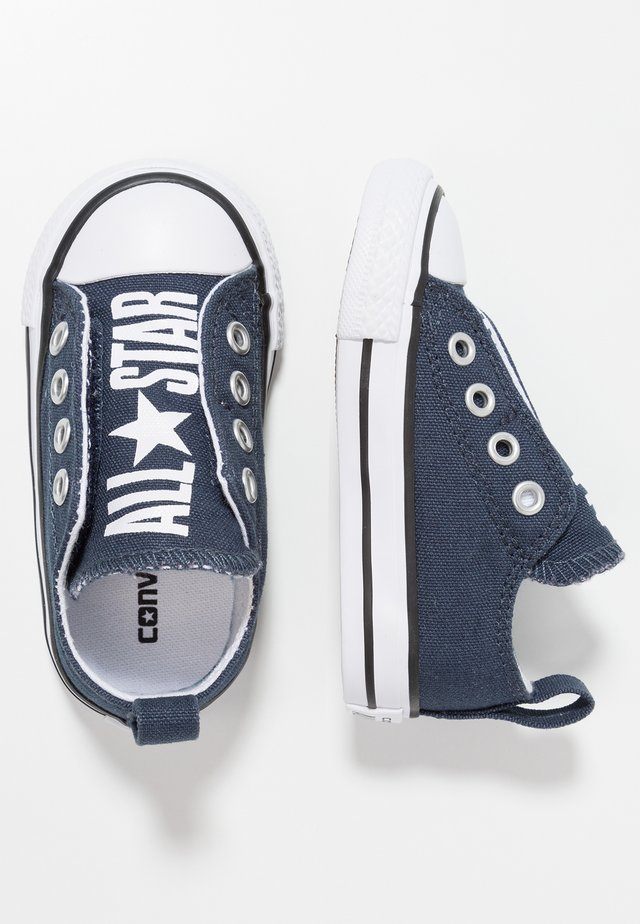 CHUCK TAYLOR ALL STAR SIMPLE SLIP  - Slippers - athletic navy/white