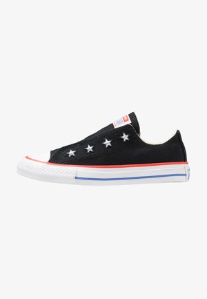 CHUCK TAYLOR ALL STAR - Mocassins - black/habanero red/ozone blue