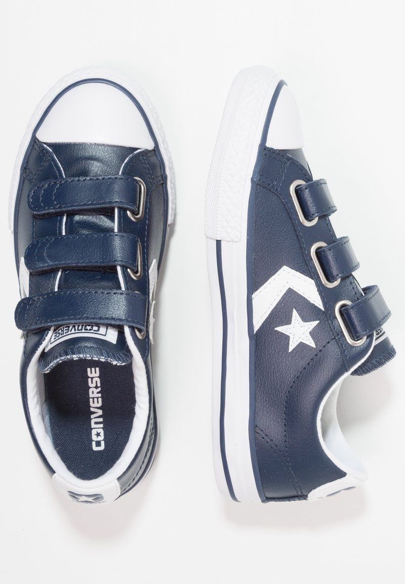 Converse - STAR PLAYER JUNIOR - Sneaker low - navy/white