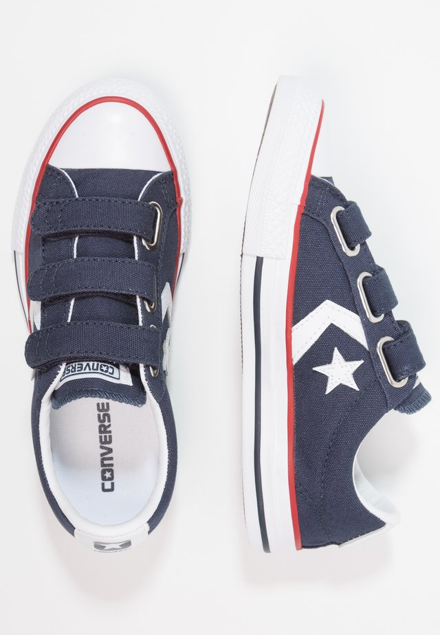 STAR PLAYER INFANT/JUNIOR - Sneakers laag - navy/white/red