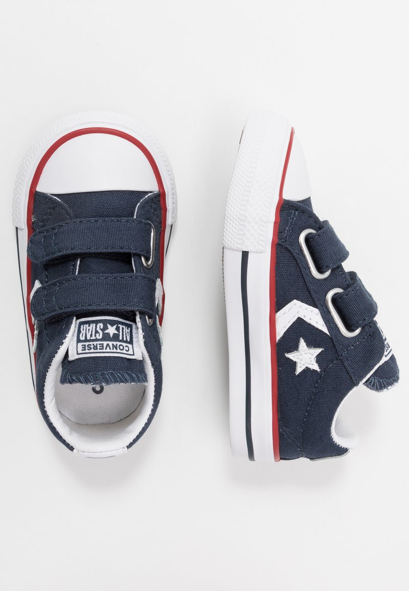 Converse - STAR PLAYER INFANT/JUNIOR - Sneakersy niskie - navy/white