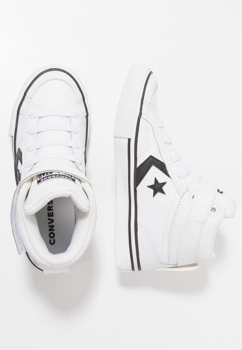 Converse - PRO BLAZE STRAP - Höga sneakers - white/black
