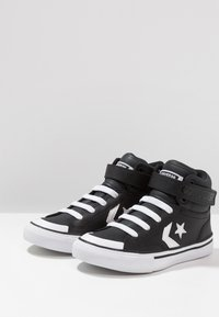 Converse - PRO BLAZE STRAP - Vysoké tenisky - black/white - 3