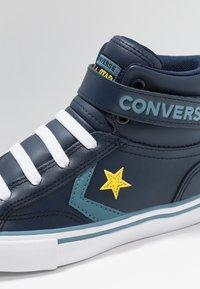 Converse - PRO BLAZE STRAP - Vysoké tenisky - obsidian/celestial teal - 2