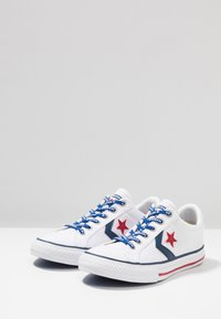 Converse - STAR PLAYER - Joggesko - white/navy/gym red - 3