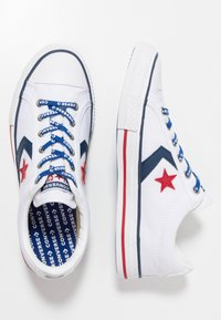 Converse - STAR PLAYER - Joggesko - white/navy/gym red - 0
