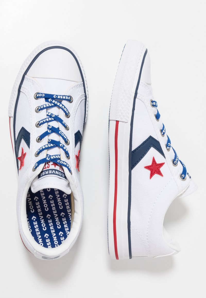Converse - STAR PLAYER - Joggesko - white/navy/gym red