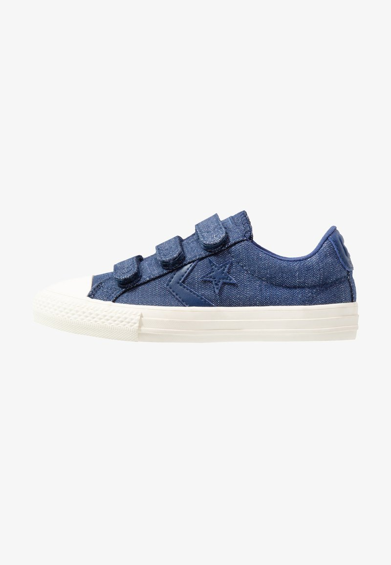 Converse - STAR PLAYER - Sneakers - navy/egret/brown