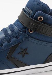 Converse - PRO BLAZE STRAP MARTIAN - High-top trainers - navy/black/cool grey - 5