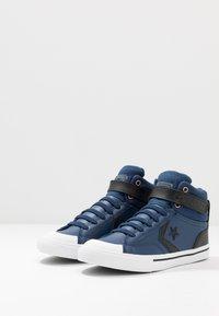 Converse - PRO BLAZE STRAP MARTIAN - Sneakers high - navy/black/cool grey - 2