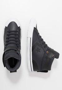 Converse - PRO BLAZE STRAP MARTIAN - Sneakers alte - almost black/black/mason - 0
