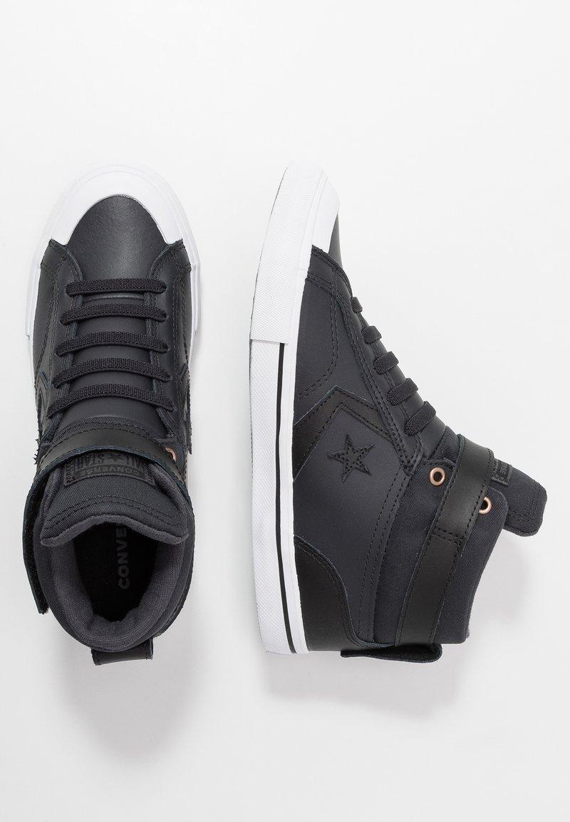 Converse - PRO BLAZE STRAP MARTIAN - Sneakers alte - almost black/black/mason