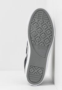 Converse - PRO BLAZE STRAP MARTIAN - Sneakers alte - almost black/black/mason - 5
