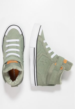PRO BLAZE STRAP SPACE RIDE - Baskets montantes - jade stone/orange rind/white