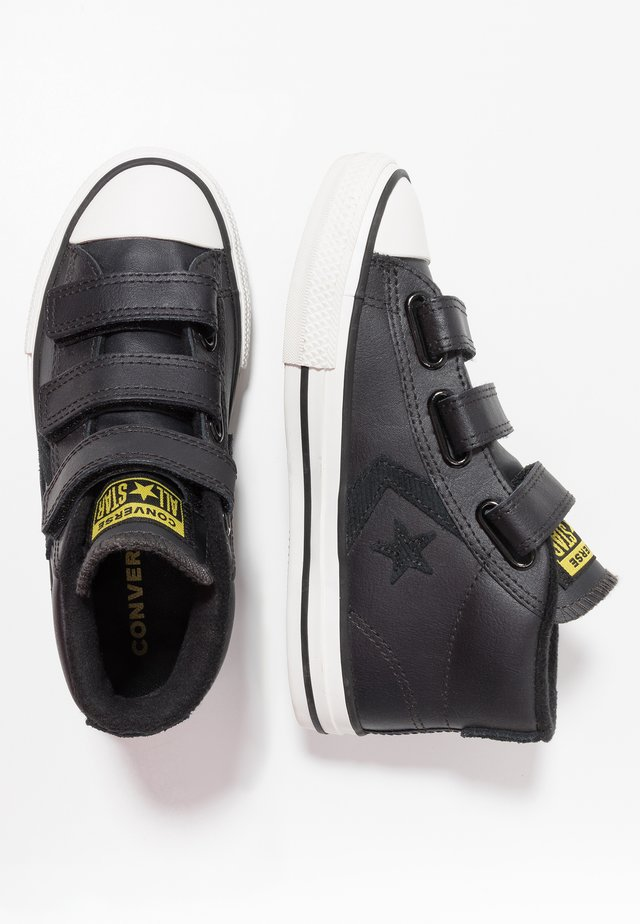 STAR PLAYER ASTEROID MID - High-top trainers - almost black/black