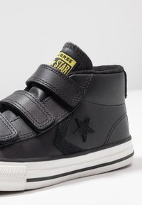 Converse - STAR PLAYER ASTEROID MID - High-top trainers - almost black/black - 2