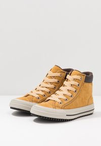 Converse - CHUCK TAYLOR ALL STAR BOOTS ON MARS - Sneakers alte - wheat/pale wheat/birch bark - 3
