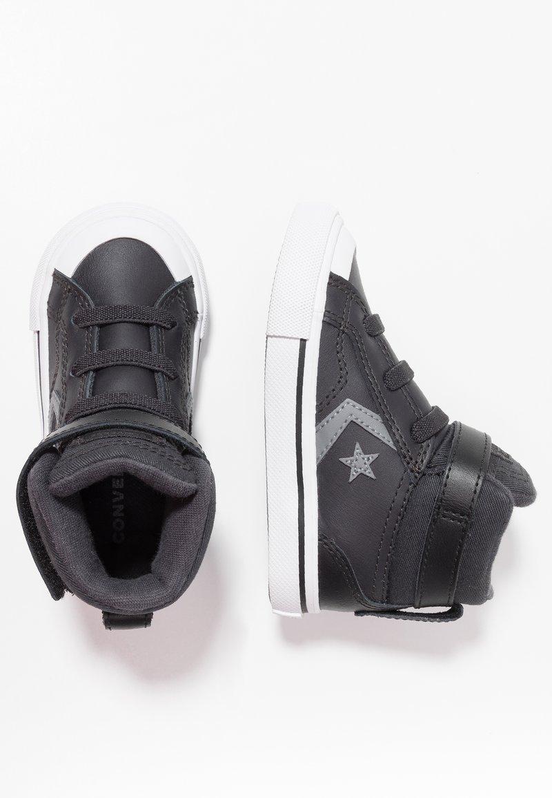 Converse - PRO BLAZE STRAP MARTIAN - Sneakers high - almost black/black/mason