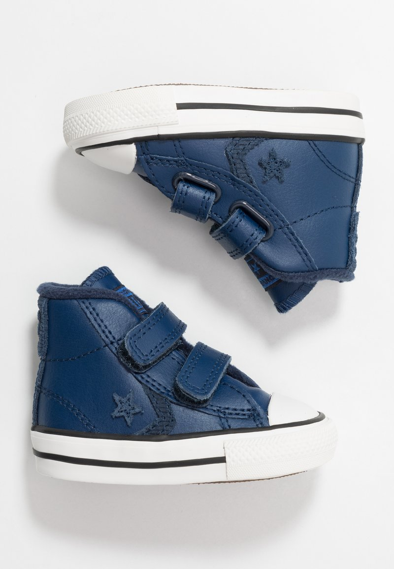 Converse - STAR PLAYER ASTEROID MID - Baby shoes - navy/obsidian/blue