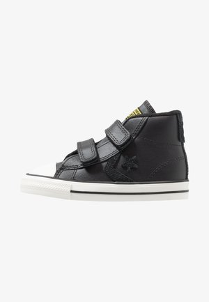 STAR PLAYER ASTEROID MID - Baby shoes - almost black/black