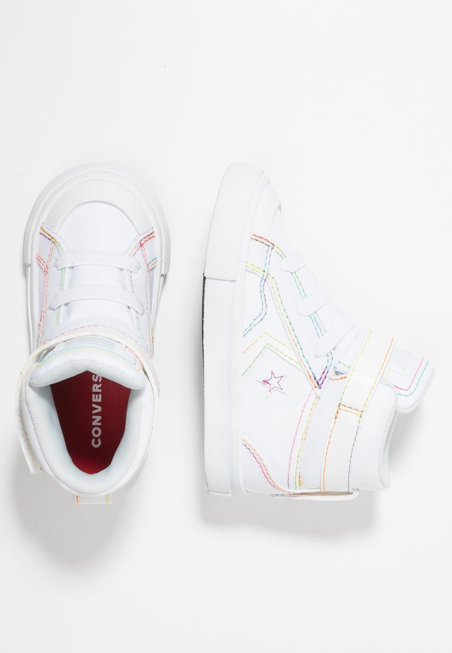 PRO BLAZE STRAP RAINBOW STITCH - High-top trainers - white/enamel red/rainbow