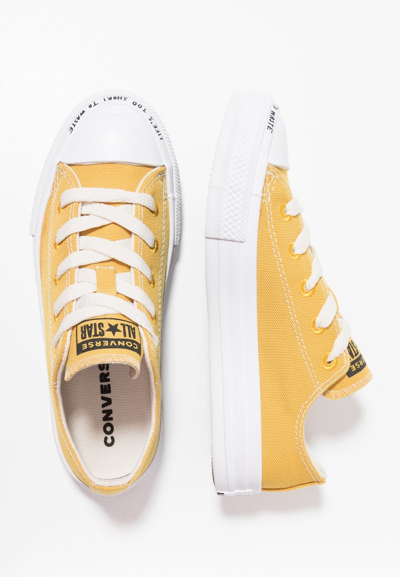 Converse - CHUCK TAYLOR ALL STAR RENEW - Sneakersy niskie - gold dart/natural/white