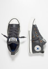 Converse - CHUCK TAYLOR ALL STAR STREET MID - Sneakers alte - almost black/blue/black - 1