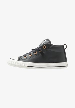 CHUCK TAYLOR ALL STAR STREET MID - Sneakers alte - almost black/blue/black