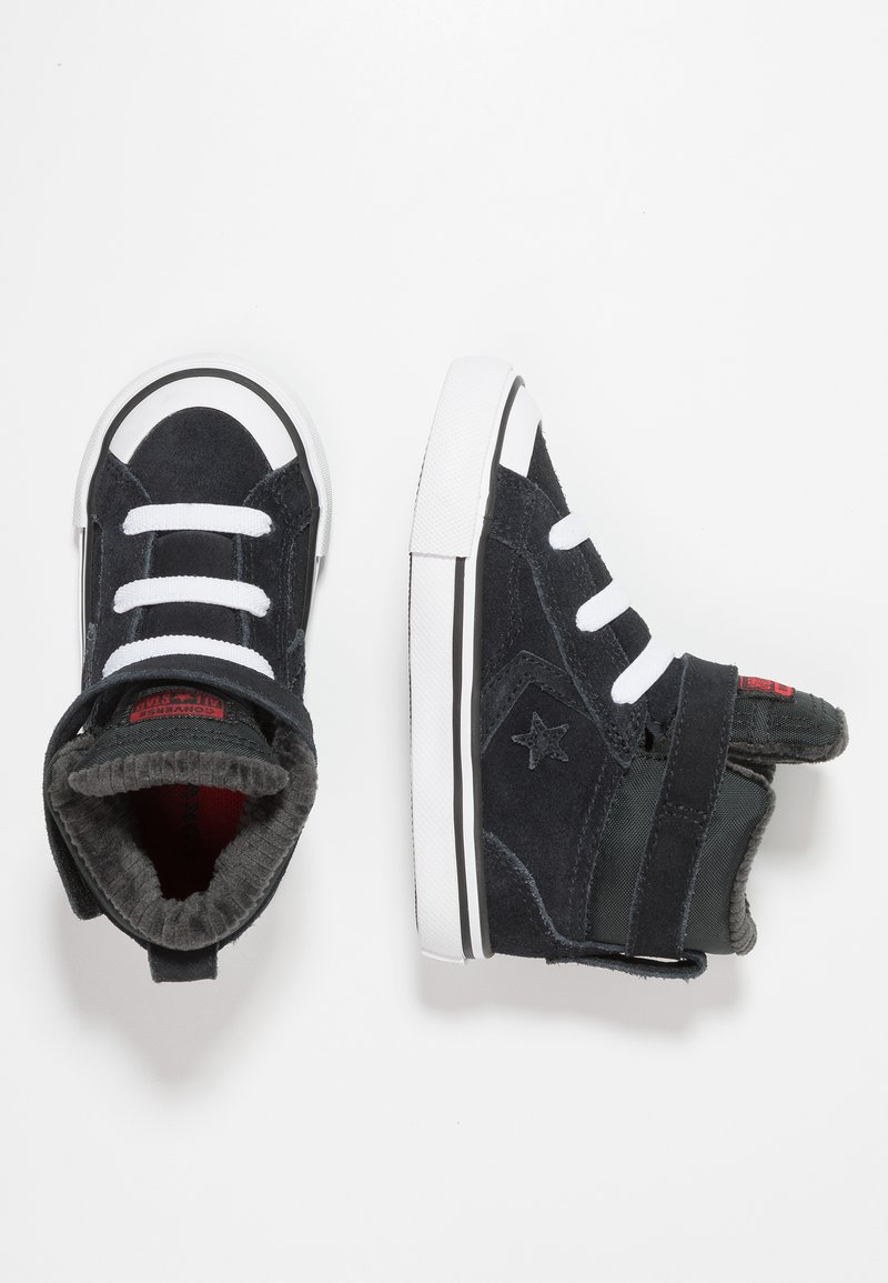 Converse - PRO BLAZE STRAP SPACE RIDE - Baskets montantes - black/enamel red/white
